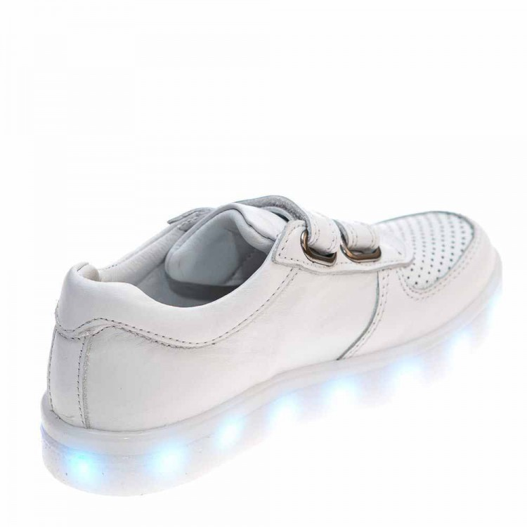 Кроссовки DALTON белые для девочки