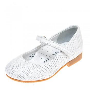 Туфли Minibel T5065(620)C белые (21-25)