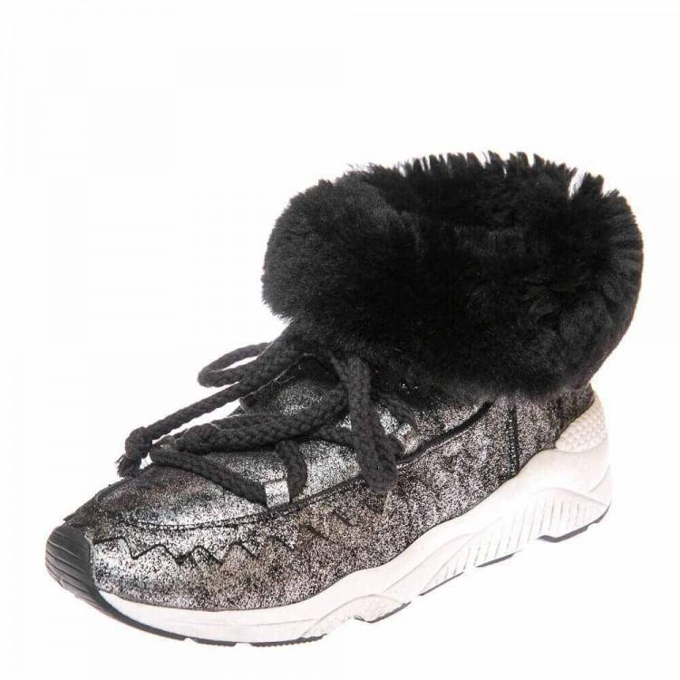 Зимние ботинки Cool Moon 157402 графит (36-41)