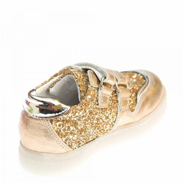 Кроссовки Panda 6360(253-361-165)золото (21-25)