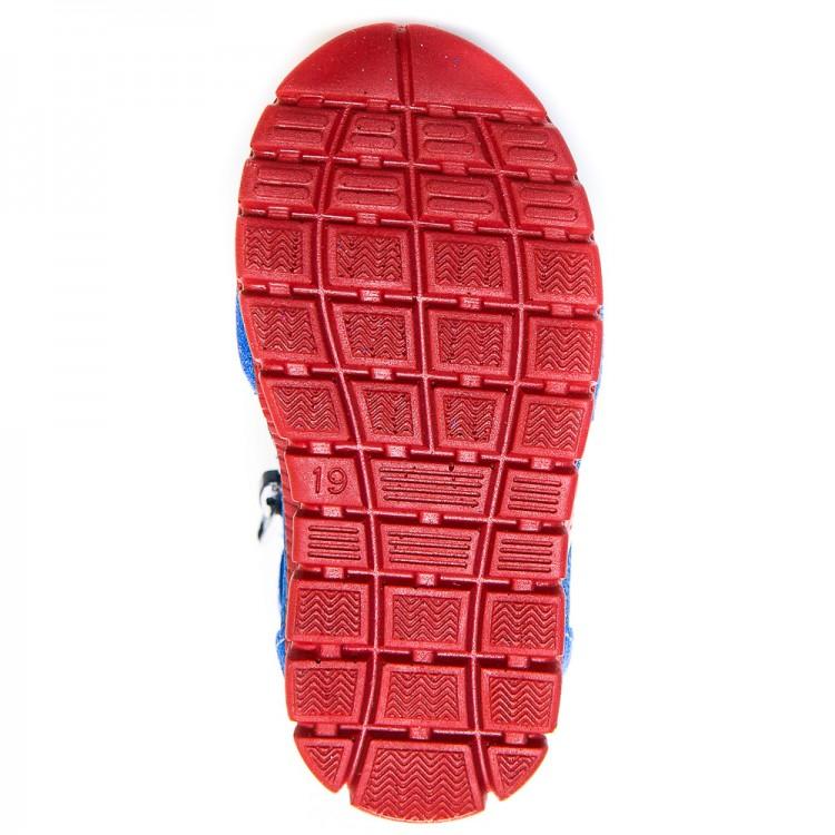 Кроссовки minipicco A1822 синий замш с красным (19-23)