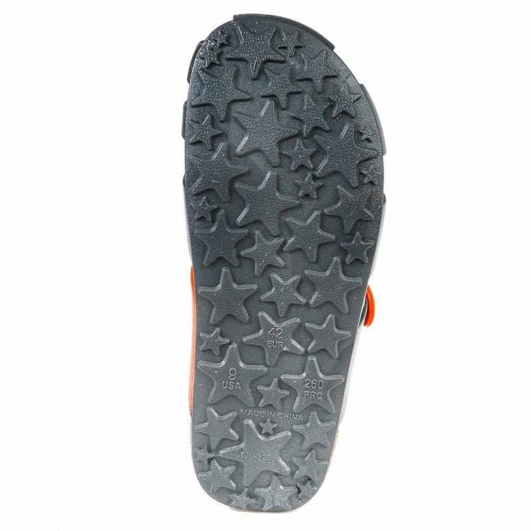 Кроксы Super Gear 887219350008 сер/оранж