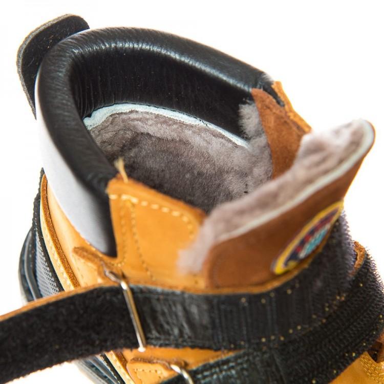 Зимние ботинки Panda 500(323) рыжие (26-30)