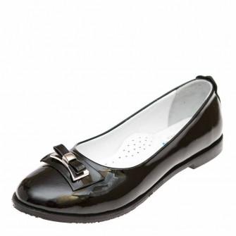 Туфли Panda 01104(34) чёрный лак (37-39)