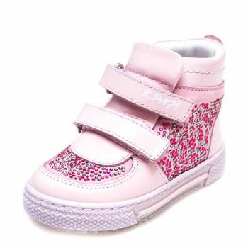 Ботинки д/с 1501736(88) розовый камни (21-25)