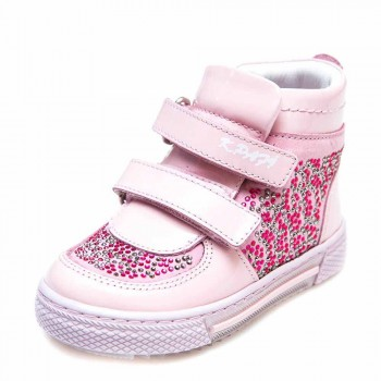 Ботинки д/с K.Pafi 1501736(88) розовый камни (21-25)