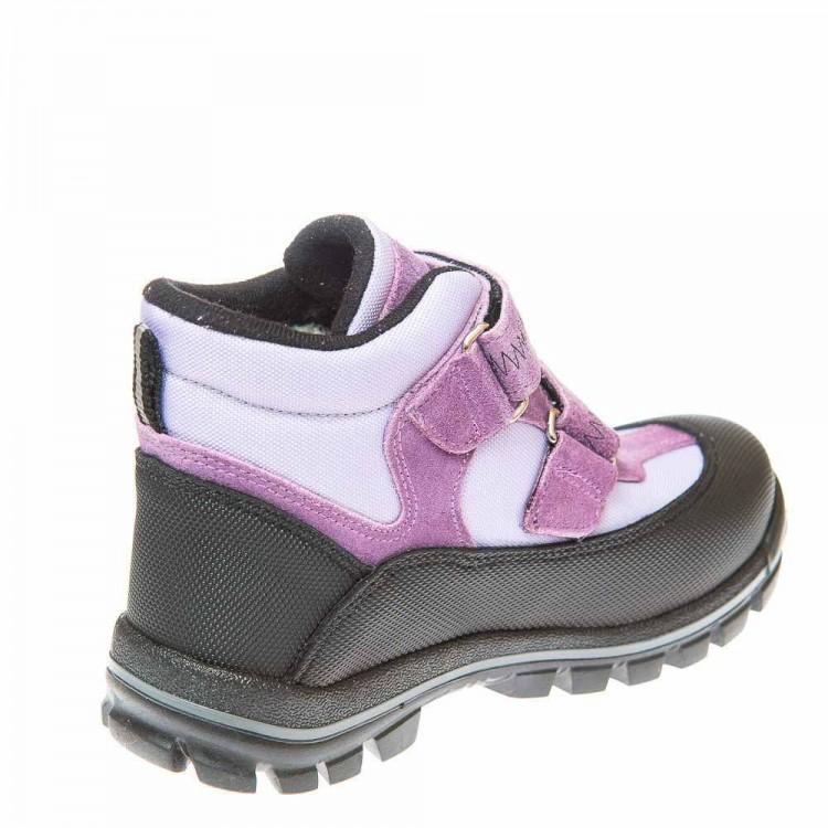 Термо ботинки Panda 330(314) сиреневые