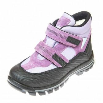 Термо ботинки зима 330(314) сиреневые