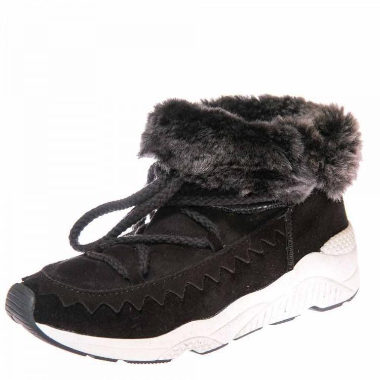 Зимние ботинки Cool Moon 157402 чёрные (36-41)