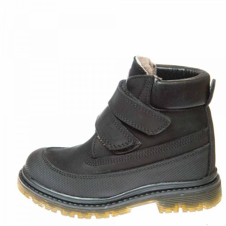 Зимние ботинки Panda 500(307) чёрные (26-30)