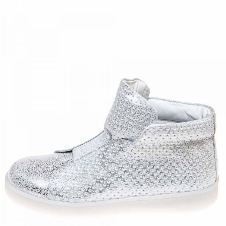 Кроссовки DALTON серебристые для девочки