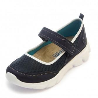 Туфли 503 синие (31-36)