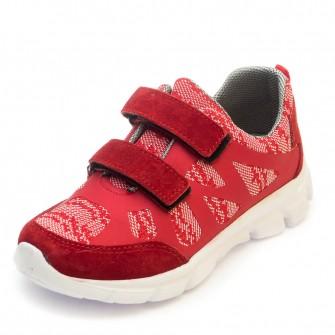 Кроссовки 601 красные (31-36)