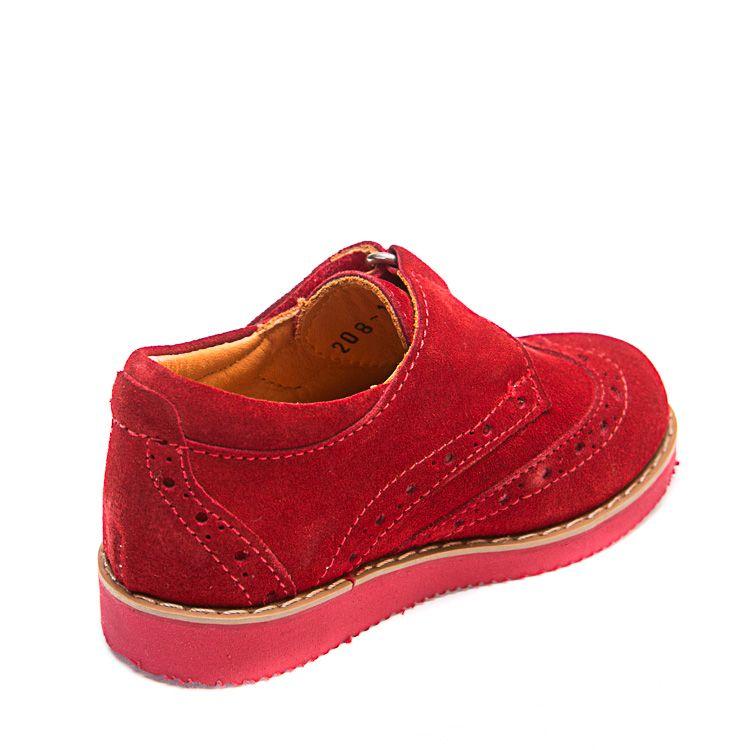 Туфли Minibel 208(1)PR красные (21-25)