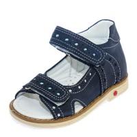 Босоножки Comfort shoes 6122 синие (21-25)