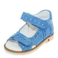 Босоножки Comfort shoes 6222 голубые (21-25)