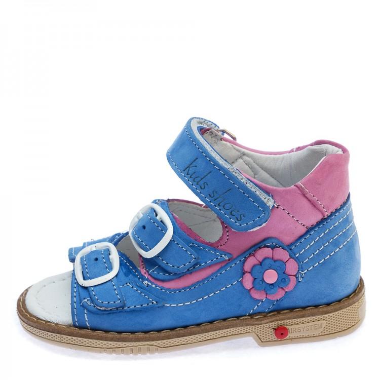 Босоножки Comfort shoes 6322 гол/розовые (21-25)
