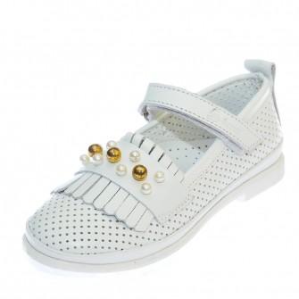 Туфли 4226 белые (26-30)