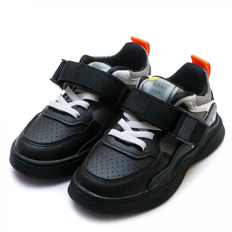 Кроссовки BABUDOU A1135(27-31)черн