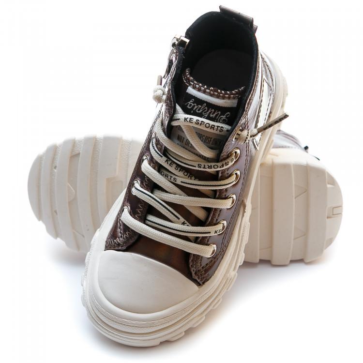 Кроссовки Fashion бронзовые
