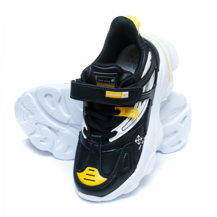 Кроссовки BABUDOU чёрные для мальчика