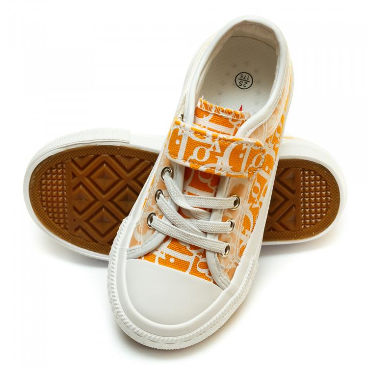 Кеды Fashion оранжевые для девочки