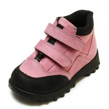 Ботинки Panda д/с 9195(83-04) розовые (21-25)