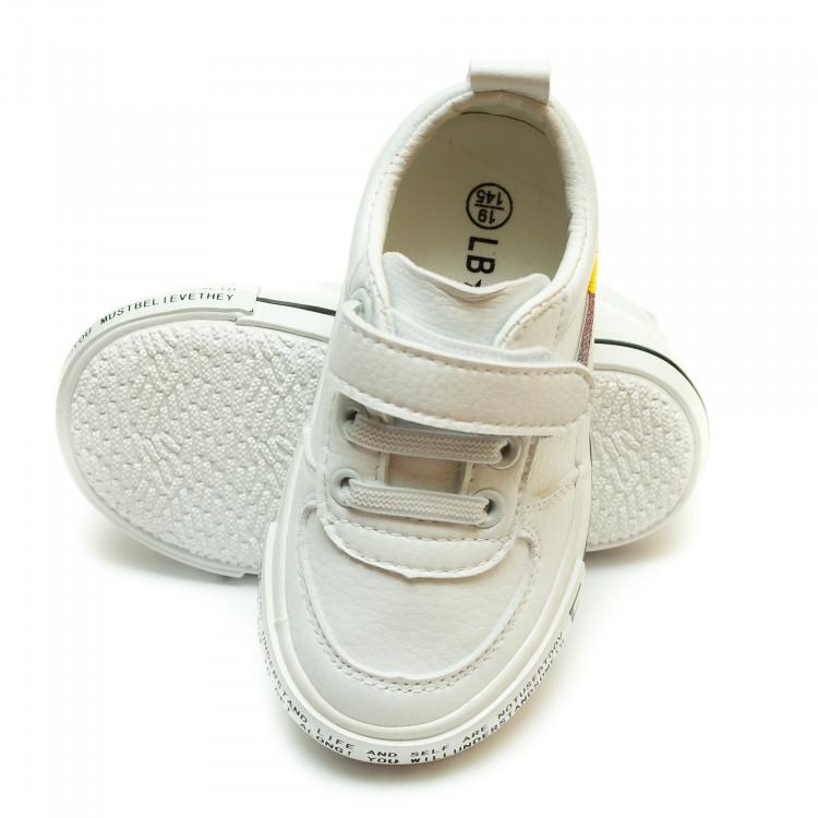 Кеды LEKAI Y-501(18-23)белые