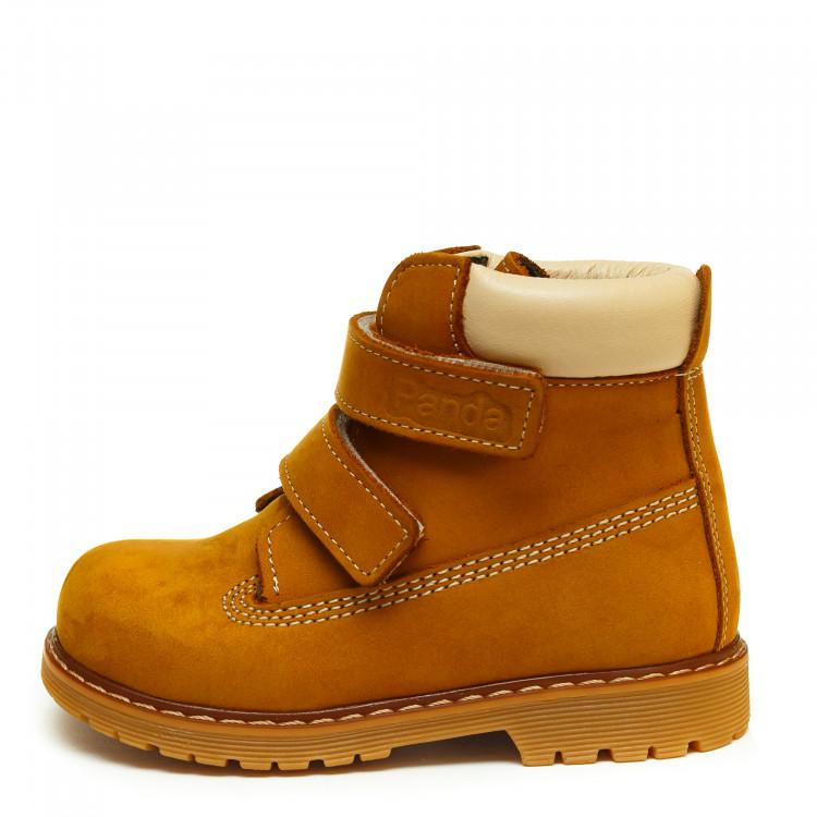 Ботинки Panda д/с 01200(21-25)рыж.нубук