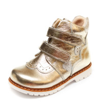 Ботинки Panda д/с 01KALP(21-25) бел/золот