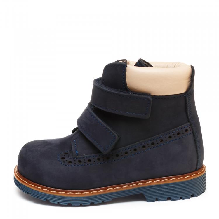 Ботинки Panda д/с 01200(21-25)син.нубук