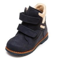 Ботинки зима Panda 01126(169)(21-25) син/беж