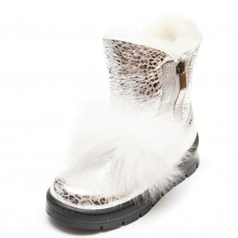 Ботинки зима K.Pafi 8016(65-45)(26-30) белый мех