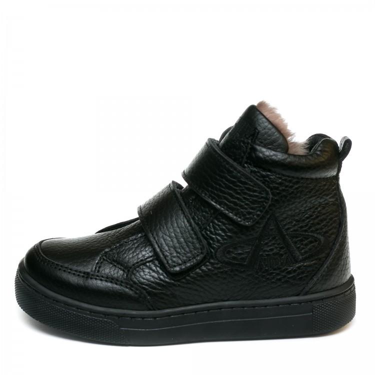 Ботинки зима AlilA Z345PP(26-30) черные 2 лип