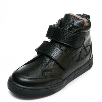 Ботинки зима AlilA Z345PP(31-36) черные 2 лип