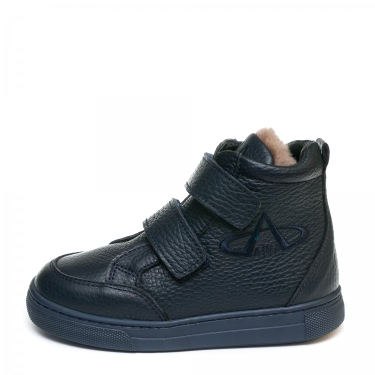 Ботинки зима AlilA Z345PP(22-25) темн-син 2 лип