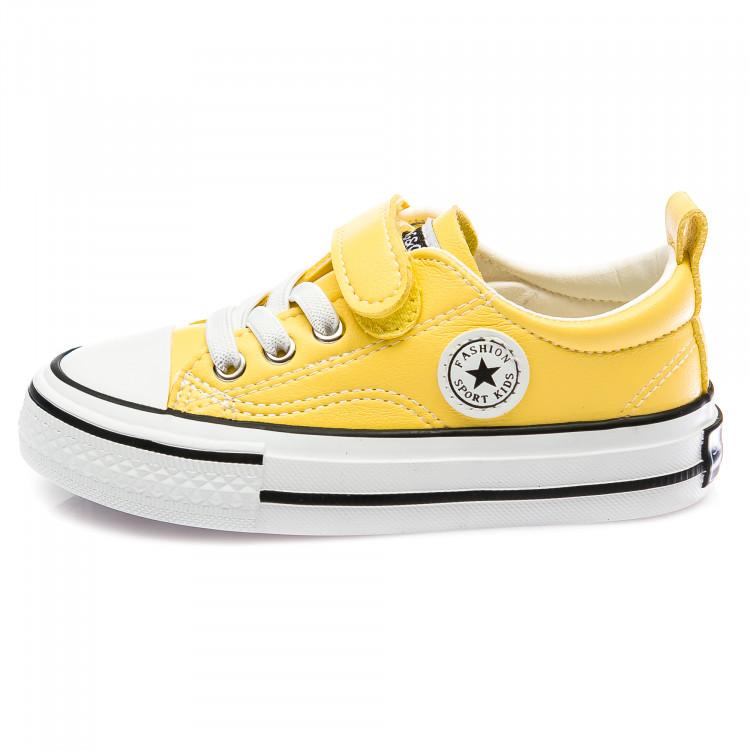 Кеды Fashion жёлтые для девочки