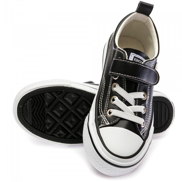 Кеды Fashion S5795(31-37) черные