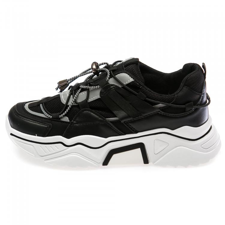Кроссовки Fashion чёрные для девочки