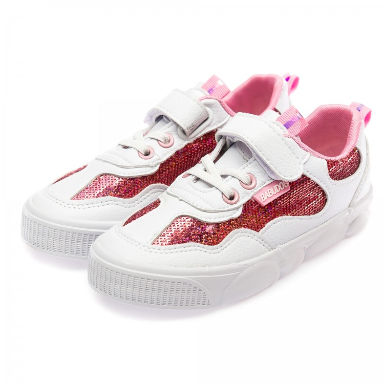 Кеды Fashion белые для девочки