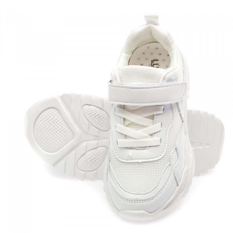 Кроссовки BiQi WASP L9155-1(32-37)белые
