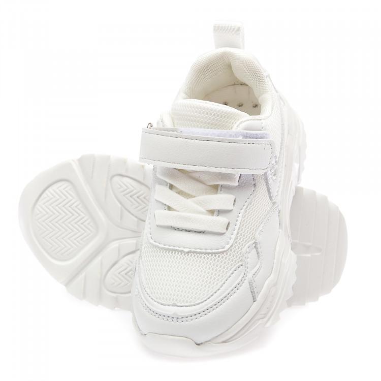 Кроссовки BiQi WASP L8155-1(26-31)белые