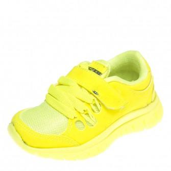 Кроссовки TK2201-5 ярко жёлт. (22-25)