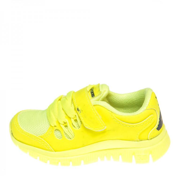 Кроссовки Ankara TK2201-5 ярко жёлт. (22-25)