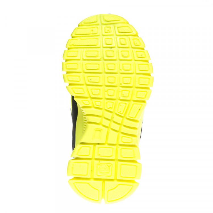 Кроссовки Ankara TK2201-7 ярко жёлт/чёрн (22-25)